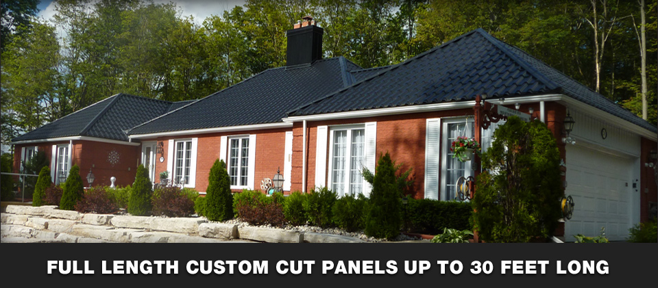 Metal Roofing Full Length Profiles